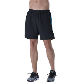 asics 7In Running Shorts Men blue/black